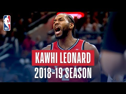 Kawhi Leonard's Best Plays From the 2018-19 NBA Regular Season