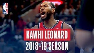 Video Kawhi Leonard's Best Plays From the 2018-19 NBA Regular Season MP3, 3GP, MP4, WEBM, AVI, FLV Juni 2019