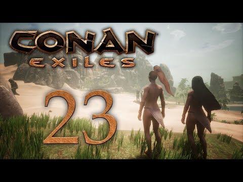 Conan Exiles - прохождение игры на русском - Черный галеон [#23] | PC