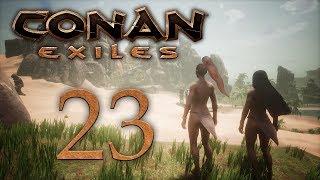 Conan Exiles — прохождение игры на русском — Черный галеон [#23] | PC
