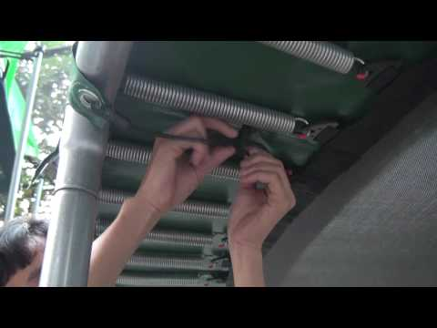 Montering af kantpude