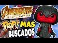Los Funko POP MAS Buscados de Avengers INFINITY WAR