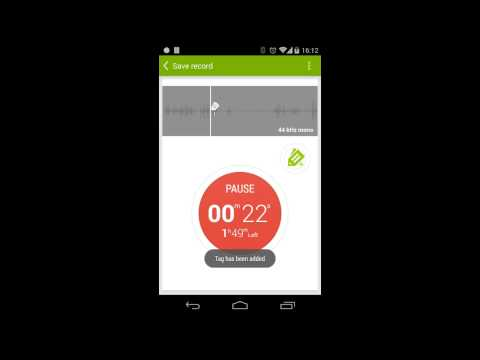 Video of Recordense Voice Recorder Lite