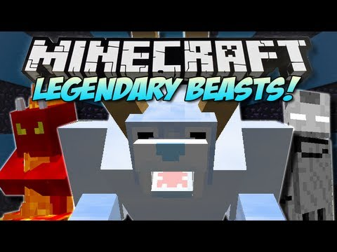Minecraft | LEGENDARY BEASTS! (5 New Bosses!) | Mod Showcase [1.5.1]