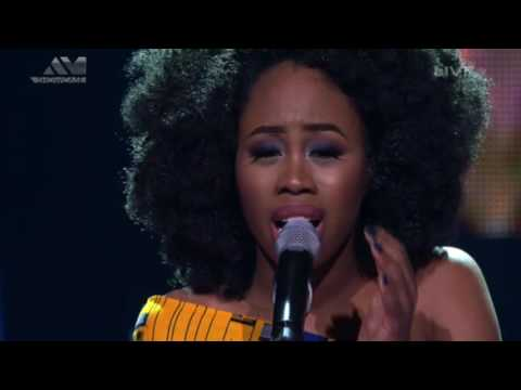 A'rese Sings Halleluyah - TheVoiceNigeria Finale