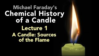 "Bill Hammack presents Lecture One of Michael Faraday's lectures on The Chemical History of a Candle. A free companion book helps modern viewers understand each lecture — details at http://www.engineerguy.com — as does a commentary track and closed captions for each lecture.►Free Companion book to this video series http://www.engineerguy.com/faradayText of Every Lecture  Essential Background  Guides to Every Lecture  Teaching Guide & Student ActivitiesIn these lectures Michael Faraday's careful examination of a burning candle reveals the fundamental concepts of chemistry, while at the same time superbly demonstrating the scientific method. In this lecture Faraday focuses on the physical changes occurring in the candle, for example, how the wax moves from the candle into the flame. LINKS TO OTHER VIDEOS IN THIS SERIES► Lectures(1/6) Introduction to Michael Faraday's Chemical History of a Candlehttps://www.youtube.com/watch?v=RrHnLXMTOWM(2/6) Lecture One: A Candle: Sources of its Flamehttps://www.youtube.com/watch?v=6W0MHZ4jb4A(3/6) Lecture Two: Brightness of the Flamehttps://www.youtube.com/watch?v=B8vSLgaW9WQ(4/6) Lecture Three: Products of Combustionhttps://www.youtube.com/watch?v=31pLJyReFXw(5/6) Lecture Four: The Nature of the Atmospherehttps://www.youtube.com/watch?v=v1DWHeouJYM(6/6) Lecture Five: Respiration & its Analogy to the Burning of a Candlehttps://www.youtube.com/watch?v=Fb4RoPEtwso► Bonus Videos: Lectures with CommentaryLecture One: A Candle: Sources of its Flame (Commentary version)https://www.youtube.com/watch?v=ce0g0e9NmgQLecture Two: Brightness of the Flame (Commentary version)https://www.youtube.com/watch?v=grWNnVB9B-4Lecture Three: Products of Combustion (Commentary version)https://www.youtube.com/watch?v=0s8anLurWp0Lecture Four: The Nature of the Atmosphere (Commentary version)https://www.youtube.com/watch?v=WLgxPKU-JsILecture Five: Respiration & its Analogy to the Burning of a Candle (Commentary version)https://www.youtube.com/watch?v=tCmZfnT6_M4►Subscribe now!  https://www.youtube.com/subscription_center?add_user=engineerguyvideo►Become an advanced viewer of Engineer Guy videos - help evaluate early draftshttp://www.engineerguy.com/previewCOMPANION BOOK DETAILSThe companion book is available as an ebook, in paperback and hardcover — and for free as a PDF. Details on all versions are at http://www.engineerguy.com/faradayMichael Faraday's The Chemical History of a Candlewith Guides to the Lectures, Teaching Guides & Student ActivitiesBill Hammack & Don DeCoste190 pages  5 x 8  14 illustrationsHardcover (Casebound)  ISBN 978-0-9838661-8-0  $24.95Paper ISBN 978-1-945441-00-4 $11.99eBook  ISBN 978-0-9839661-9-7  $3.99Audience: 01 — General TradeSubjectsSCI013000   SCIENCE / Chemistry / GeneralSCI028000   SCIENCE / Experiments & ProjectsSCI000000   SCIENCE / GeneralEDU029030  EDUCATION / Teaching Methods & Materials / Science & TechnologyThis book introduces modern readers to Michael Faraday's great nineteenth-century lectures on The Chemical History of a Candle. This companion to the YouTube series contains supplemental material to help readers appreciate Faraday's key insight that ""there is no more open door by which you can enter into the study of science than by considering the physical phenomena of a candle."" Through a careful examination of a burning candle,  Faraday's lectures introduce readers to the concepts of mass, density, heat conduction, capillary action, and convection currents. They demonstrate the difference between chemical and physical processes, such as melting, vaporization, incandescence, and all types of combustion. And the lectures reveal the properties of hydrogen, oxygen, nitrogen, and carbon dioxide, including their relative masses and the makeup of the atmosphere. The lectures wrap up with a grand, and startling, analogy: by understanding the chemical behavior of a candle the reader can grasp the basics of respiration. To help readers understand Faraday's key points this book has an ""Essential Background"" section that explains in modern terms how a candle works, introductory guides for each lecture written in contemporary language, and seven student activities with teaching guides.Author BiosBill Hammack is a Professor of Chemical & Biomolecular Engineering at the University of Illinois—Urbana, where he focuses on educating the public about engineering and science. He is the creator and host of the popular YouTube channel engineerguyvideo. Don DeCoste is a Specialist in Education in the Department of Chemistry at the University of Illinois—Urbana, where he teaches freshmen and pre-service high school chemistry teachers. He is the co-author of four chemistry textbooks."