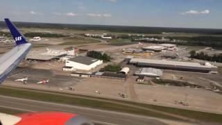 الاقلاع من مطار ستوكهولم الدولي عبر الخطوط الاسكندنافية SAS