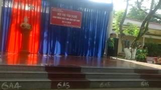 Huyen Phuoc Long Vietnam  city images : Lớp 8A1 trường TH cơ sở thị trấn phước long huyện phước long