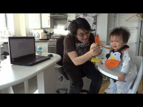 Power of Gangnam Style - Baby Benjamin eats reaction dancing sleeping fussy parody 강남스타일