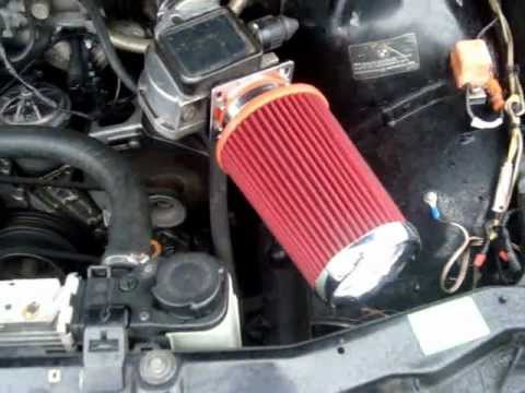 1992-98 318i/s BMW How to install an air intake/filter