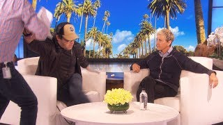 Exclusive: Behind the Scenes at Ellen's Hilarious Rehearsal