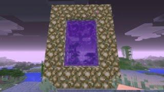 Minecraft Xbox ONE PS4 & Wii U how to make a GlowStone portal glitch