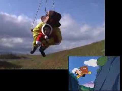 「オープニングが吹きまくる実写版アンパンマン」のイメージ