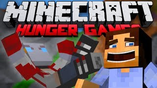 BOW VS SWORD?! (Minecraft Hunger Games with Noochm Episode 16)