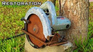 Video Very Old Circular Saw Restoration MP3, 3GP, MP4, WEBM, AVI, FLV Mei 2019