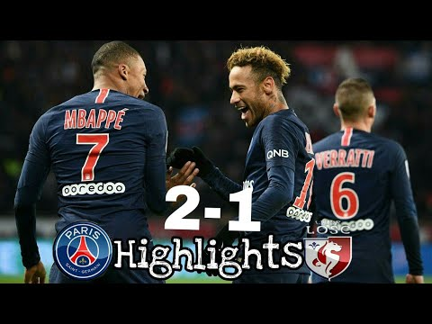 PSG vs Lille 2-1 - All Goals _ Extended Highlights(720P_HD)