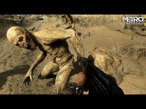 Metro Exodus's Survival Combat Gameplay