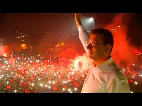 Πανηγυρισμοί στην Κωνσταντινούπολη