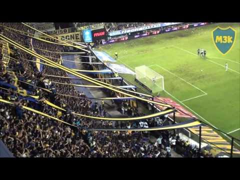 Boca Rafaela 2016 / Orion y la hinchada atajan el penal - La 12 - Boca Juniors