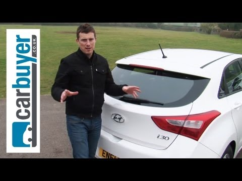 Hyundai i30 hatchback 2013 review – CarBuyer