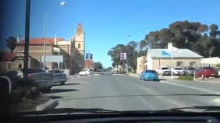 Kadina Australia  City pictures : Driving through Kadina South Australia