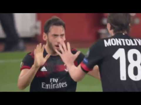 Arsenal vs AC Milan 3-1 |Highlights| 3/15/2018 | Sports Highlights