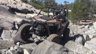 10. 2017 Polaris RZR XP 1000 LE on the Rubicon