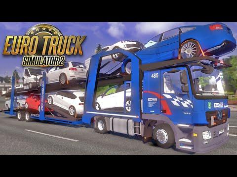 Mercedes Benz Cegonha - Euro Truck Simulator 2