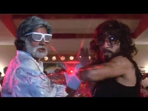 Amitabh Bachchan kills Shakti Kapoor | Inquilaab | Action Scene 14/21