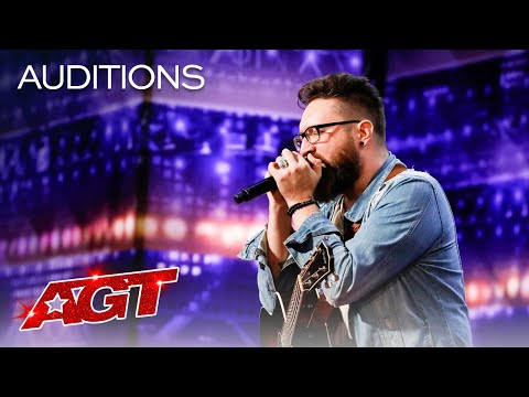 "Nolan Neal Performs Moving Original Song, ""Lost"" - America's Got Talent 2020"