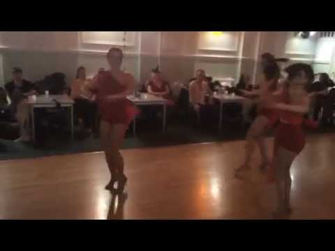Caramelo Ladies Styling Salsa Student Team 25Oct2014