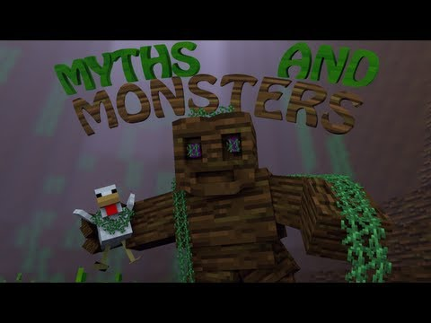 Mythical Mobs Mod: Minecraft Myths and Monsters Mod Showcase!