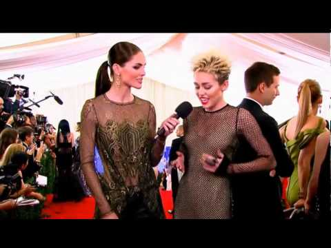 miley - Met Gala 2013 -- Red Carpet Photos! Met Ball Met Gala May 6th, 2013 2013 Costume Institute Gala at the Metropolitan Museum of Art -- better known as the Met ...