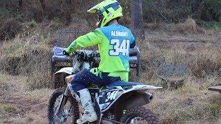 8. Husqvarna FC350 On Private Motocross Track