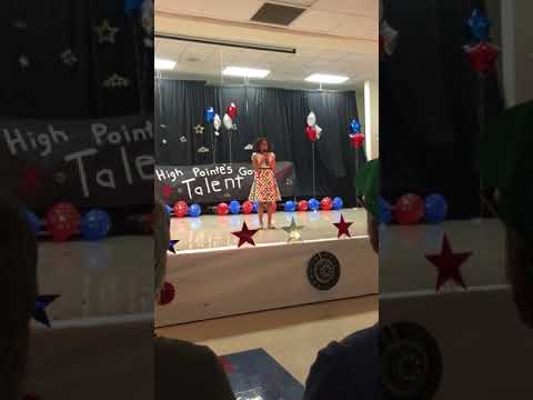 My Daughter Rihanna Performing For Her Elementary Talent Show