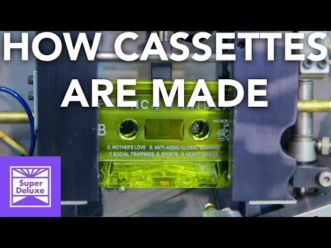 How Cassette Tapes are Made