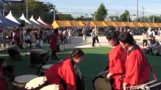 羽黒の夏祭り(5)和太鼓・響