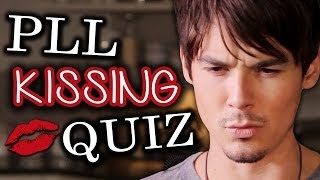 Pretty Little Liars: Who Kissed Who QUIZ With Cast - YouTube