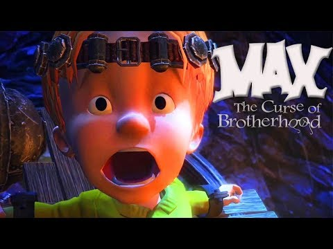 Max The Curse of Brotherhood All Cutscenes (Game Movie) 1080p HD