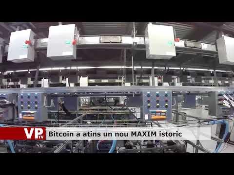 Bitcoin a atins un nou MAXIM istoric