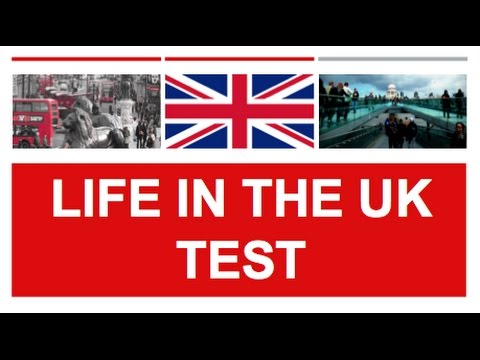 Life in the UK Test Practice Test Questions - British Citizenship Test