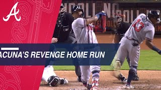 Ronald Acuna Jr. gets revenge, tensions with Marlins continue