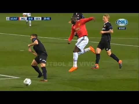Manchester United vs Sevilla 1 -  2 2018 Highlights Goals UCL 2018