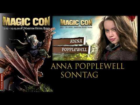 MagicCon (2018) So. Panel Anna Popplewell