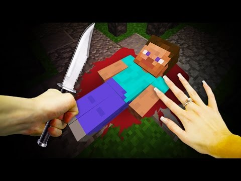 REALISTIC MINECRAFT - ALEX KILLS STEVE!