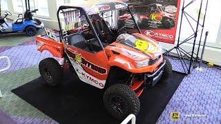 9. 2016 Kymco UXV 700 Racing ATV - Walkaround - 2016 AIMExpo Orlando