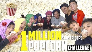 Video 1 MILLION SUBSCRIBERS POPCORN CHALLENGE | Gen Halilintar MP3, 3GP, MP4, WEBM, AVI, FLV Desember 2018