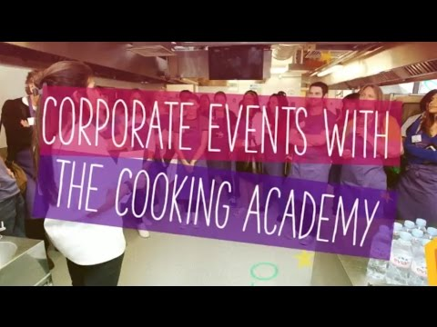 Corporate Cookery Events With The Cooking Academy