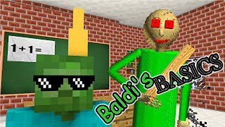 Monster School : BALDI'S BASICS BECOME TEACHER - Minecraft Animation