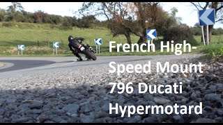 9. Ducati Hypermotard 796 French High-Speed Mount